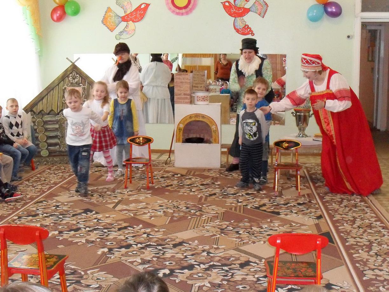Сценарии русских народных праздников в детском саду